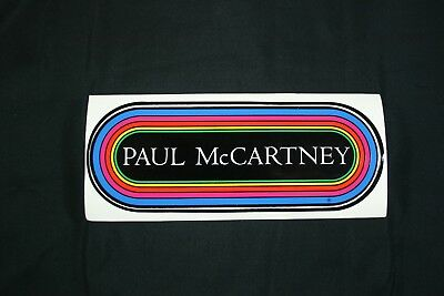 KLOS 95.5 LA Radio Paul McCartney Original Decal Bumper Sticker NEW NOS