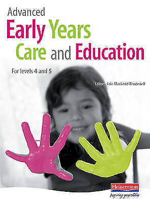 Advanced Early Years Care and Education: For Levels 4 and 5-ExLibrary