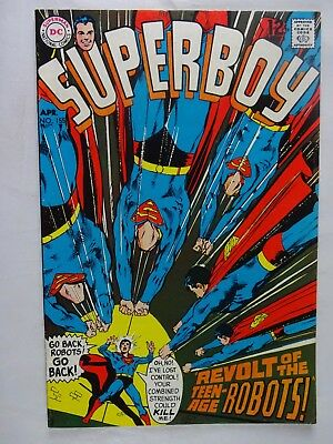 Superboy #155   Mousey Malcolm   Revolt of the Teen-Age Robots   Neal Adams