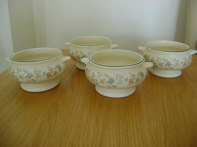 Bhs Country Garland     Discontinued.....4 Soup Bowls   Free P/p