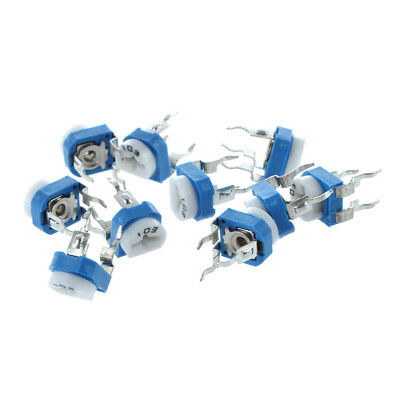 10X 6mm 10k ohm Horizontal Pot Variable Cermet Potentiometer Trimmer Resist A2B6