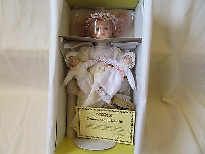 "Seymour Mann Collection 13"" Porcelain Doll NEW"