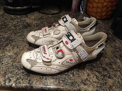 Sidi Ergo 2 Carbon Cycle Shoe size 45 - white