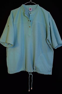 Original 1980S Tennis Active Fit Top Sporty Shirt Vtg Retro Grunge L 16