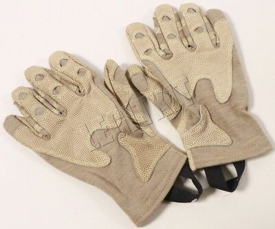 Outdoor Research OR Overlord Short Gloves MEDIUM M Nomex/Leather Tan SEAL 70152