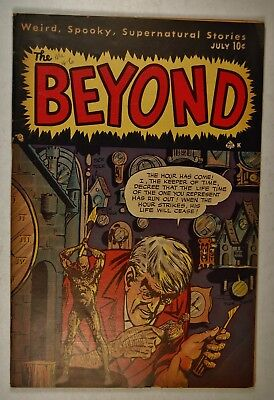 "The Beyond #5 (July 1951, Ace Magazines) ""The Frenzy of Sheila Lord!"""