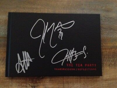 the Tea Party - Signed Transmission tour coffee table book