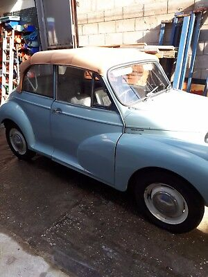 Morris Minor Convertible Conversion.  1964.  Dry stored for last 10 years.