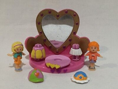 polly pocket 1996 Polly's Fashion Friends   100% complete  RARE