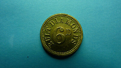 South Africa / Afrique / Afrika -Token/Jeton  Bultfontein Mine 6d Very Rare  !!