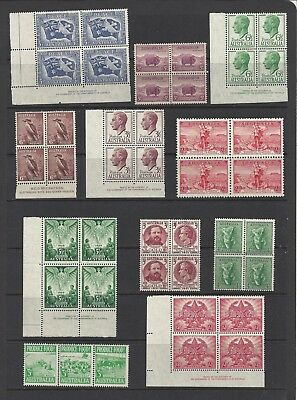 Australia KGVI MNH Collection of Blocks, SCV $60+