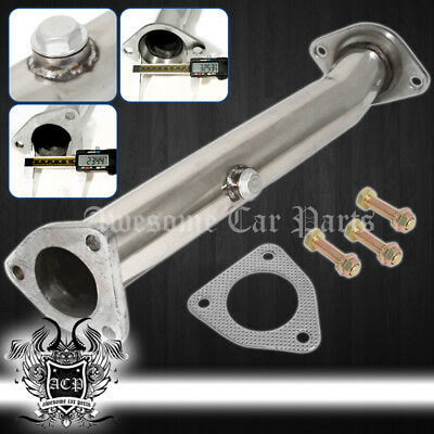 Honda S2000 AP1/AP2 60MM Test Pipe + Gasket + Bolt - (Straight Piped) Catless
