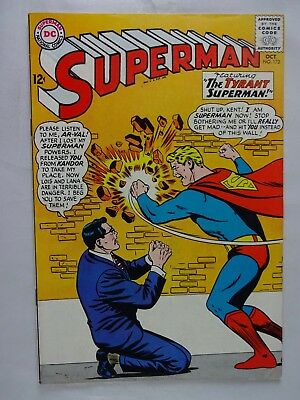 Superman #172   High Grade VF/NM   Clark Kent   Luthor   Brainiac   Curt Swan