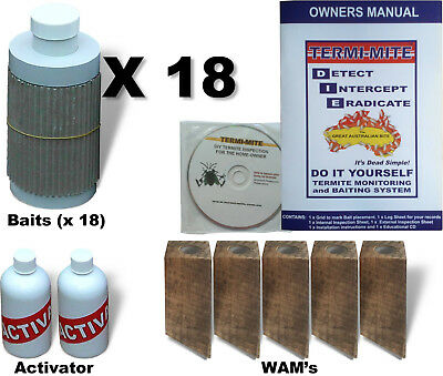 DIY Termite Baiting System for 4 Bedroom Lowset (Single Storey) houses