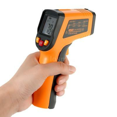 Meterk Non-Contact Infrared Thermometer Temp Test Gun Pyrometer -58~752°F R8Y5
