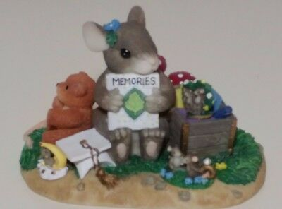 """Charming Tails """" A Treasure Of Memories """" Mouse 98/224  Fitz And Floyd"""
