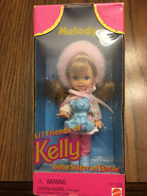 Barbie Doll - Melody Li'l Friends of Kelly Baby Sister - in Original Box