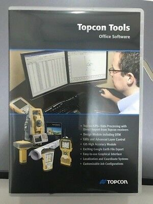 Topcon Tools 8 Gnss Software With Usb Key