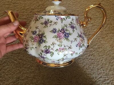Royal Albert Teapot - 100 Years Of RA English Chintz