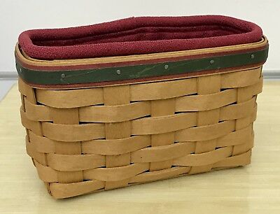 Longaberger Holiday Helper Picture Perfect Basket Combo 2004