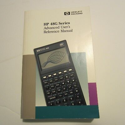 advanced user s reference manual for use with hp 48gx hewlett rh picclick com 28 HP hp 48g series advanced user's reference manual