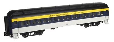Atlas O 2001115-4 3 Rail 60' Heavyweight Coach Chesapeake & Ohio #717