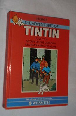 Flight 714 (The Adventures of Tintin) by Herge Paperback Book The Cheap Fast