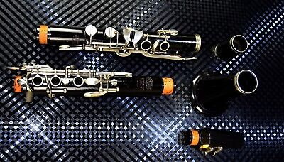 Vintage Top Clarinet Uebel Old (German) System + Original Case~Rare&best Quality