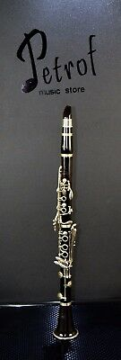 Original Extremely Rare Top Clarinet L.a.ripamonti With Mouthpiece~Milano,italy~