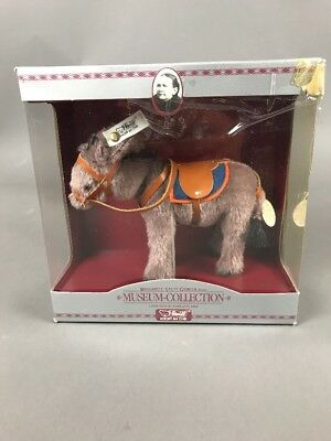 Steiff Museum Collection Replica 1931 Mohair Donkey limited edition plush w TAGS