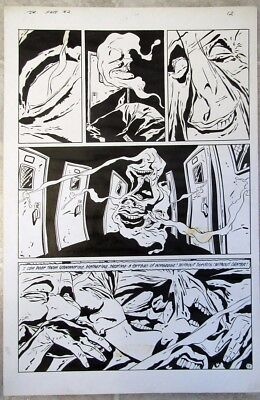DC's DR. FATE Issue #2 KEITH GIFFEN ORIGINAL ART  Page #12 1987