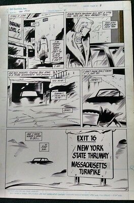 DC's DR. FATE 2 Pages Issue #2 KEITH GIFFEN ORIGINAL ART  #7 #8 1987