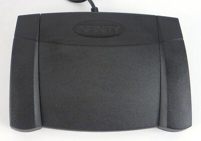 Infinity USB Computer Transcription Foot Pedal Switch IN-USB-2