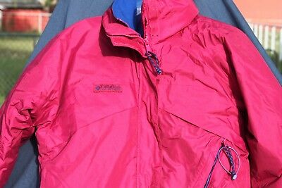 Columbia Womens Whirlibird Snow and Ski Jacket Red Sz Small with Removable Liner