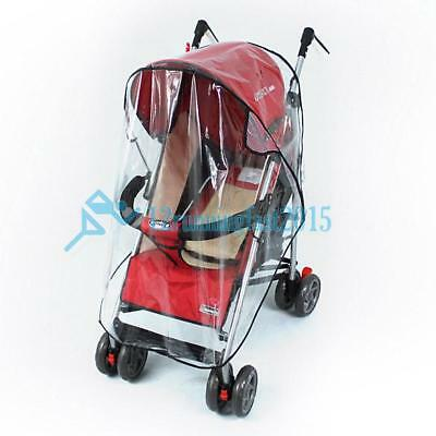 Universal Strollers Pushchairs Baby Carriage Waterproof Rain Cover Windshield