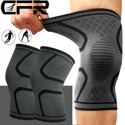 Sports Knee Support Brace Patella Protector Pad Sleeve Basketball Compression AU