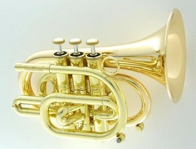 Pocket Trumpet - Carol Brass CPT-3000-GLS-Bb-L