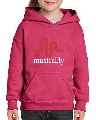 Musical.ly Matching Couples Music Video Fan Birthday Gift Youth&Kids Hoodie