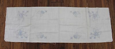 Rare Vintage - American Thread Co- Linen Dresser Scarf - # 240A  to Embroider.