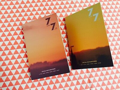 Got 7 7for7  Magic hour Golden hourversion postcard set only