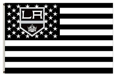 Los Angeles Kings flag with strpe and stars Flag 3x5ft