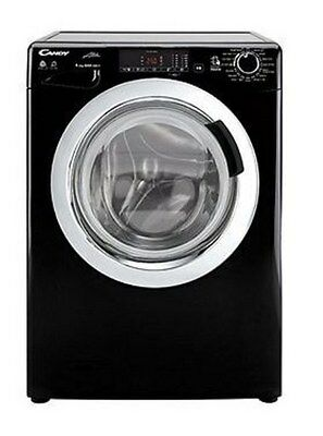 Candy 1400 rpm Freestanding Variable Temperature Touch Washer Dryer Black NEW