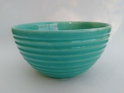 Vintage Mint Green Ringware Mixing Bowl