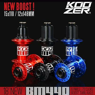 Koozer BM440 4 Bearings Boost 15*110 12*148mm for extreme off-road