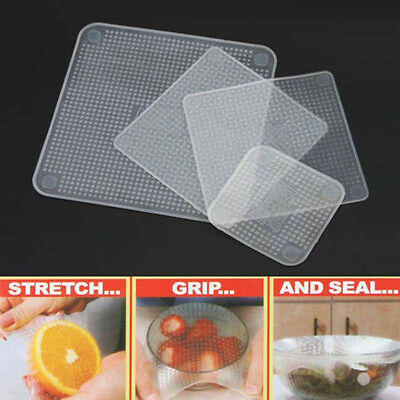 Re-usable Food Wraps Stretch and Fresh Food Home Accessories Kitchen Tools Hot