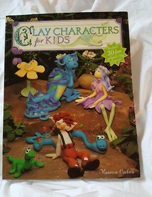 Clay Characters For Kids Book