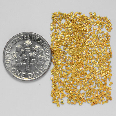 0.6997 Gram Alaskan Natural Gold Nuggets - (#20911) - Hand-Picked Quality