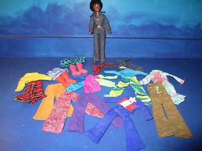 Hasbro World of Love Doll & Clothes Lot inc Boots & Hats VERY GOOD CONDITION!