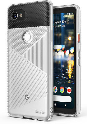 Google Pixel 2 XL Case, Ringke [BEVEL] Minimalist Diagonal Textured Shockproof