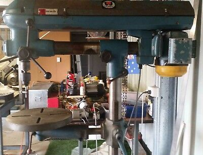 Brobo Waldown Radial Drill...    comes with Vice and Jacobs Chuck